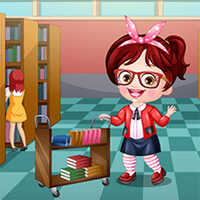 Baby Hazel Librarian Dress Up