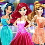 Disney Princess Prom Dress Up